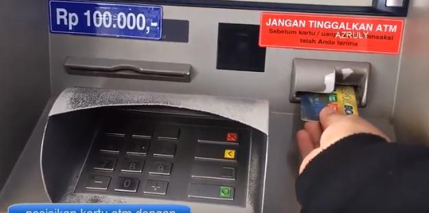 Cara Cek Saldo BCA via ATM Dengan Gambar Lengkap