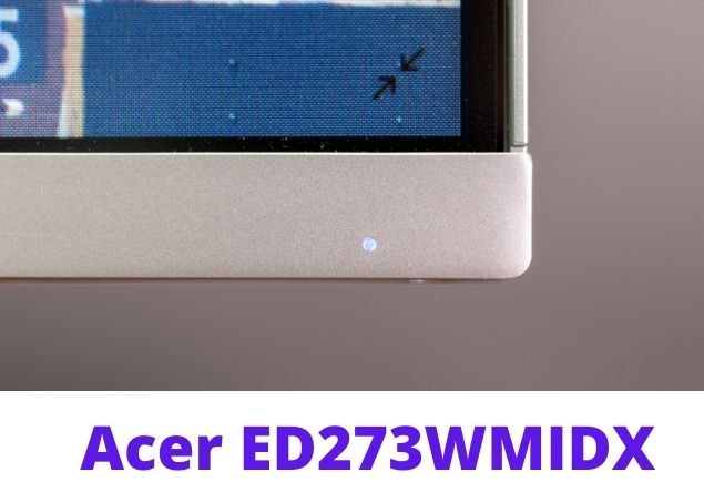 Acer ED273 screen 2