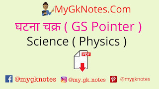 Ghatna Chakra GS Pointer Science Physics PDF
