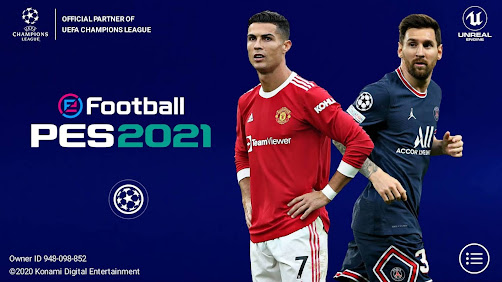 PES 2021 Mobile 5.5.0 UEFA Champions League Android