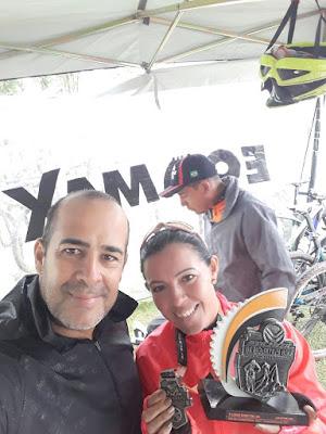 Atleta da Ilha, Glorinha, conquistou a terceira colocação na Copa Soul de Mountain Bike