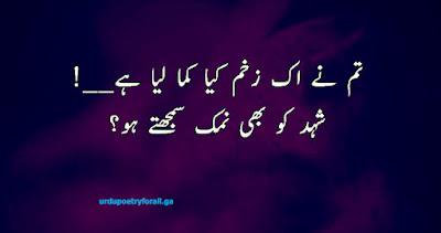 New poetry in urdu
