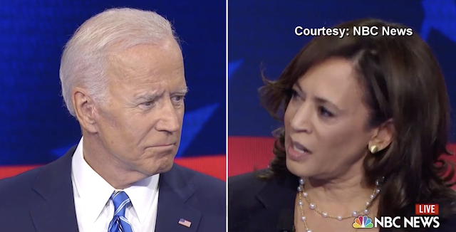 Harris Lights Into Biden as Democratic Debate Turns Testy