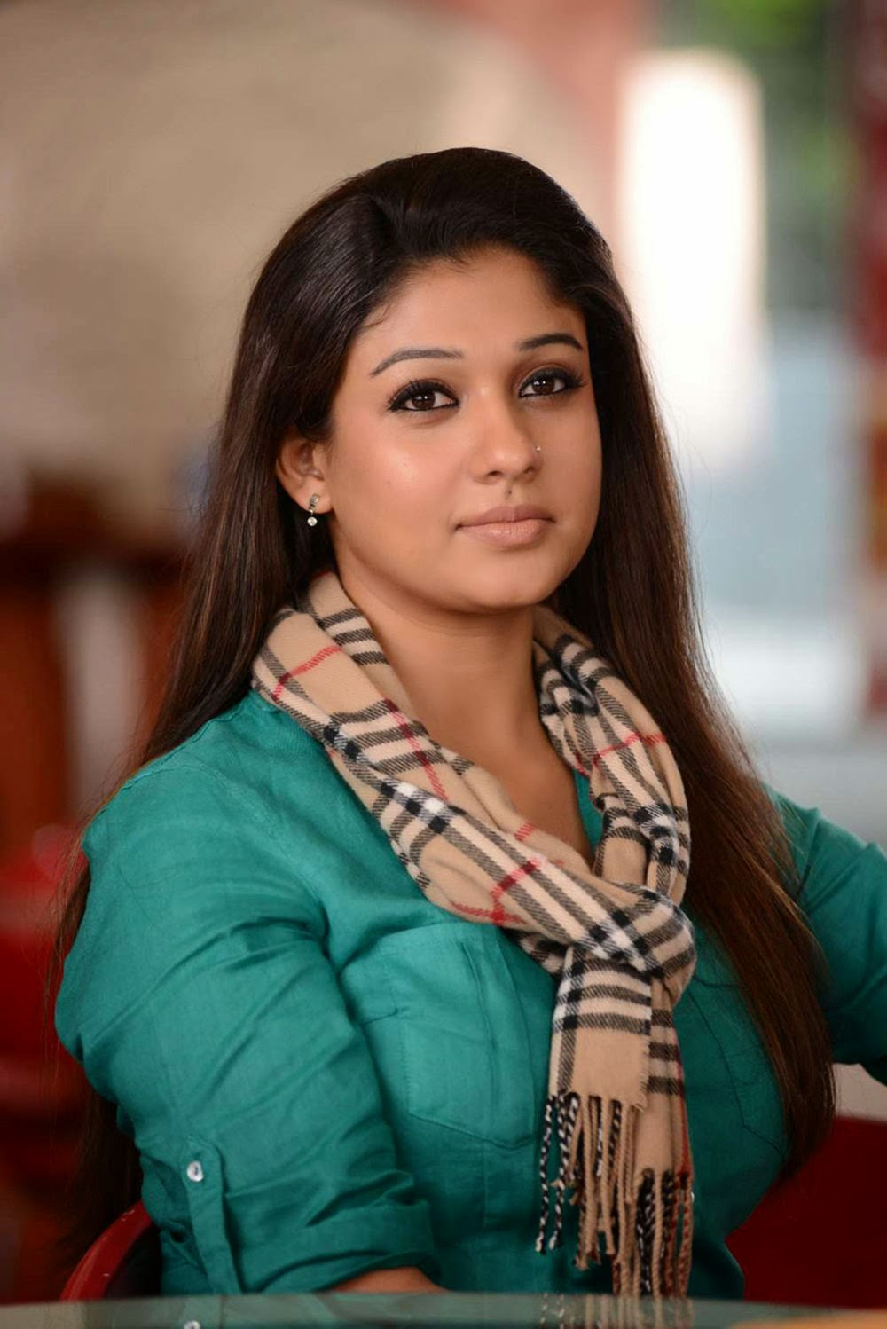 Nayanthara Hot Photo Gallery  Nayanthara Gorgeous Saree -5071