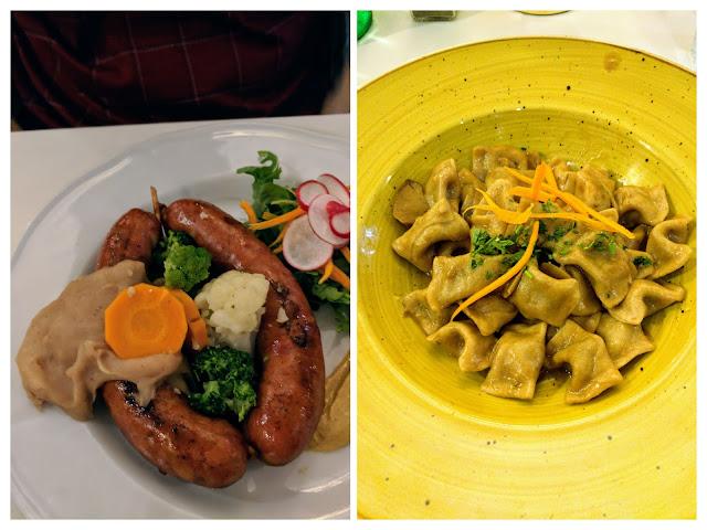 Where to eat in Ljubljana Slovenia: Gostilna Pri Kolovratu