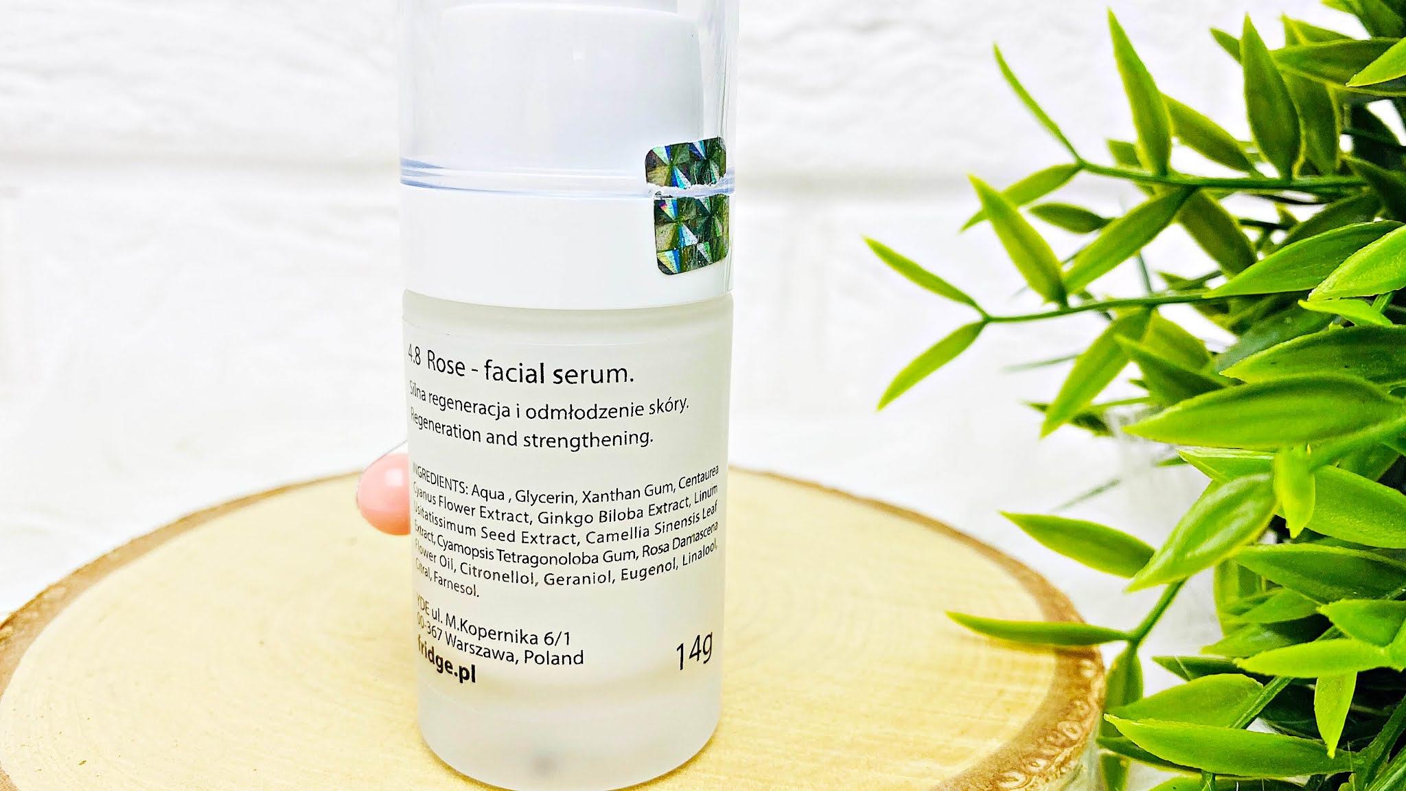 Serum Fridge 4.8 Rose Facial Serum