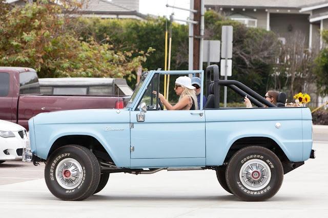 Lady Gaga 1967 Ford Bronco-spicy-drive