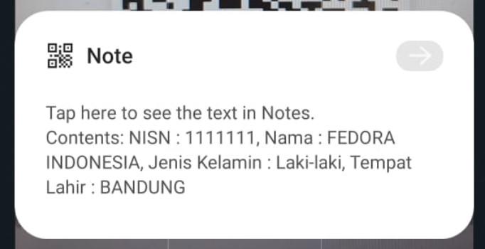 Cek QR Code dengan Kamera Android