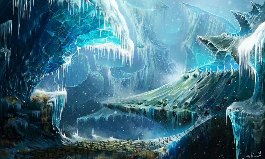 Niflheim, o Mundo Primordial do Gelo na Mitologia Nórdica