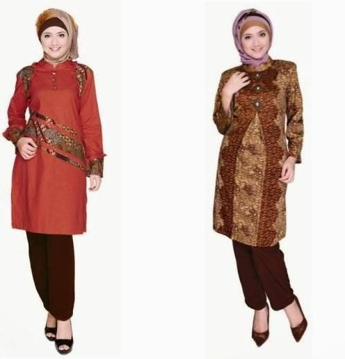 Trend Batik Kerja 2014: 20 Model Baju Batik Setelan Trend Terbaru 2020