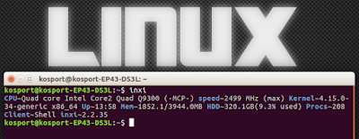 Как узнать конфигурацию компьютера на Линукс