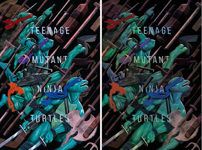 Teenage Mutant Ninja Turtles Screen Print by Jason Raish x Bottleneck Gallery