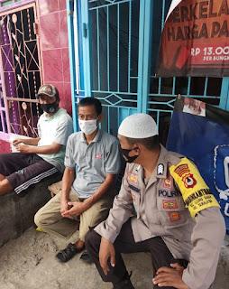 Bhabinkamtibmas Tamalabba Door to door System Ajak Warga Jaga Kamtibmas