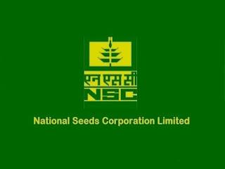 NSCL RECRUITMENT Notification 2020, राष्ट्रीय बीज निगम लिमिटेड में भर्ती...