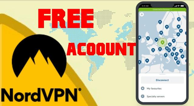 حسابات nordvpn مجانية | 2020 تفعيل مدي الحياة