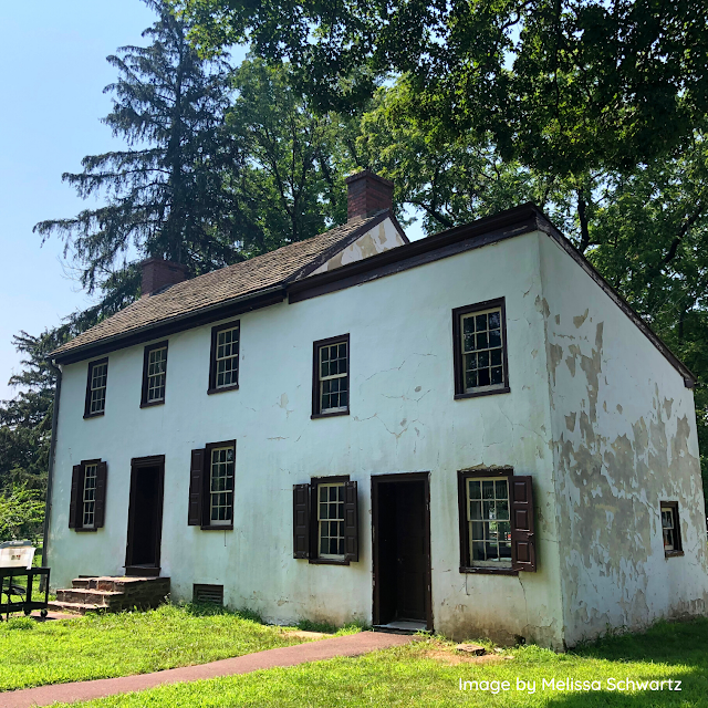 The historic Frye House constructed in 1828.