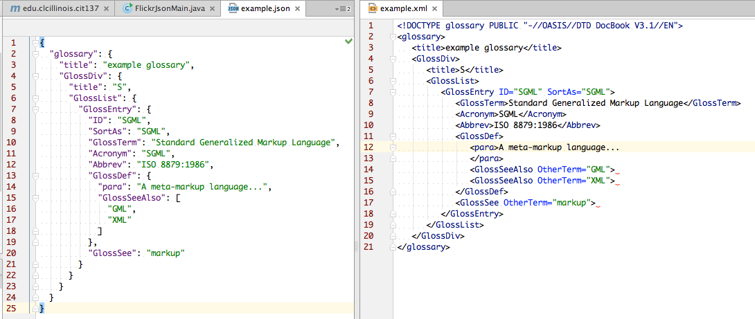 Uki AI: JSON vs  XML