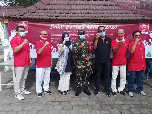 Jelang Peringatan Sumpah Pemuda.Sejumlah TNI-AD.Ikuti Bakti Sosial Donor Darah