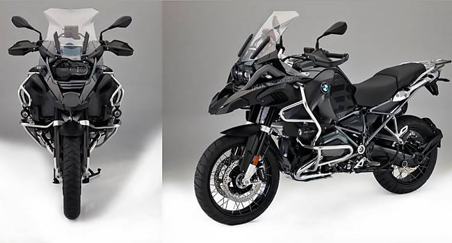 2017 BMW R1200 GS Adventure Triple Black Edition