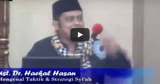 Waspadai Taktik dan Strategi Dakwah Syiah, Ust.Haikal Hasan [Video]