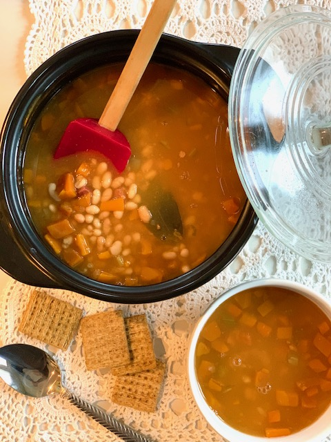 Homemade Ham and Bean Soup