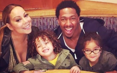 Foto de Mariah Carey con su familia