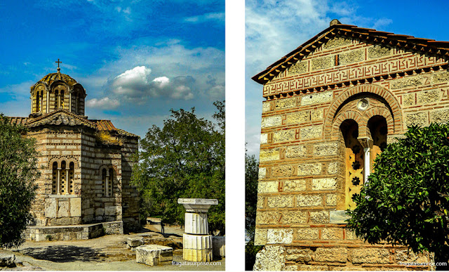 Igreja dos Santos Apóstolos (Agios Apostoli Skolakis), na  Ágora Antiga de Atenas