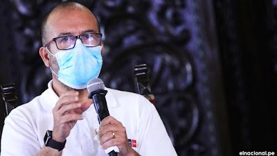 Ministro Zamora negó manipulación de datos por muerte por coronavirus en Perú