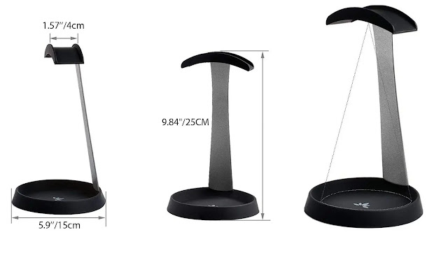 Avantree Aluminum Metal Headphone Stand Hanger review