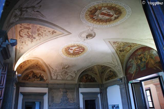 Affreschi del Piano Terra di Palazzo Orsini a Bomarzo