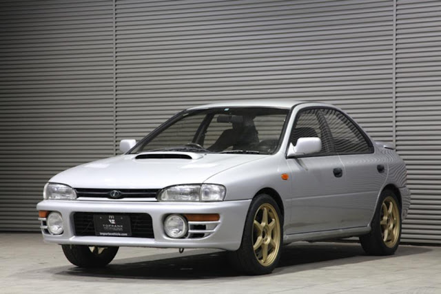 JDM 1993 Subaru WRX legal for the USA