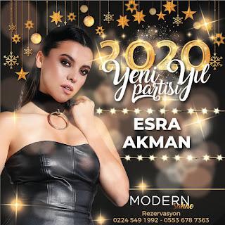Modern Sahne Bursa Yılbaşı Programı 2020 Menüsü