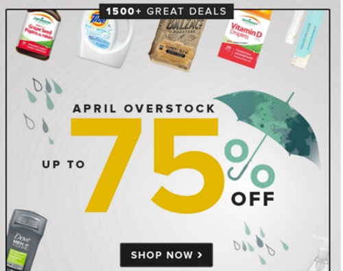 Well.ca Up To 75% Off wApril Overstock Sale