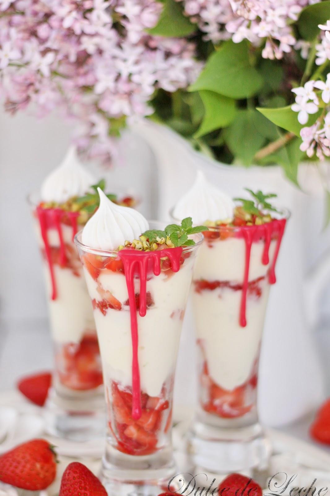 Ricottovo jahodové poháriky