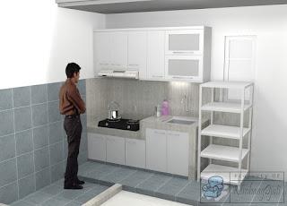 Desain Interior Ruang Dapur dan Ruang Tamu Terbaru 2020