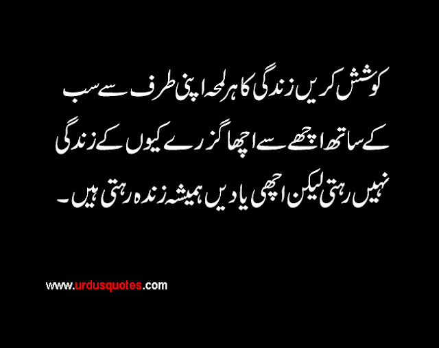 Quotes In Urdu About Life