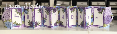 Stampin up Hydrangea Haven