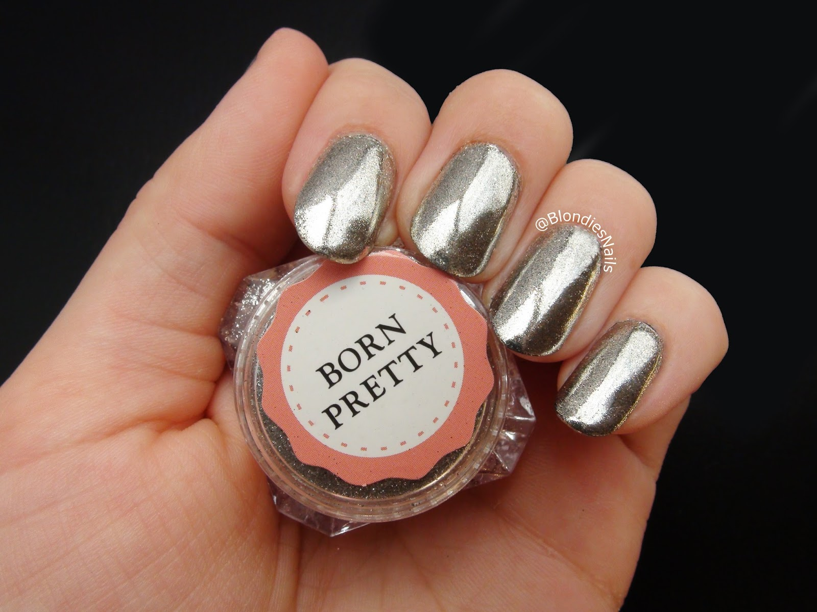 Blondie\'s Nails: Silver Mirror/Chrome Powder from Born Pretty Store ...