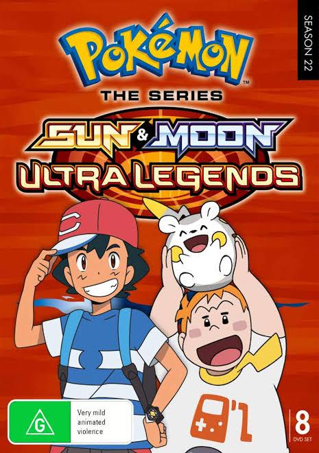Pokemon season 22 Ultra legend images in 720p