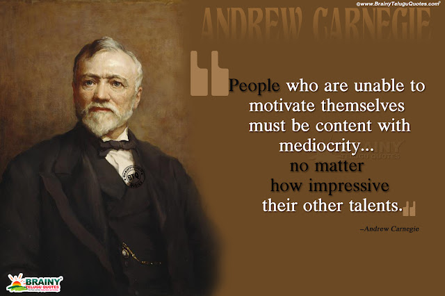 Andrew Carnegie Quotes on Life, best words in english about talent, great masters quotes on life in english