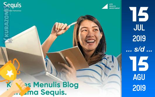 Kompetisi Blog - Sequis Berhadiah Total Uang Tunai 30 Juta Rupiah