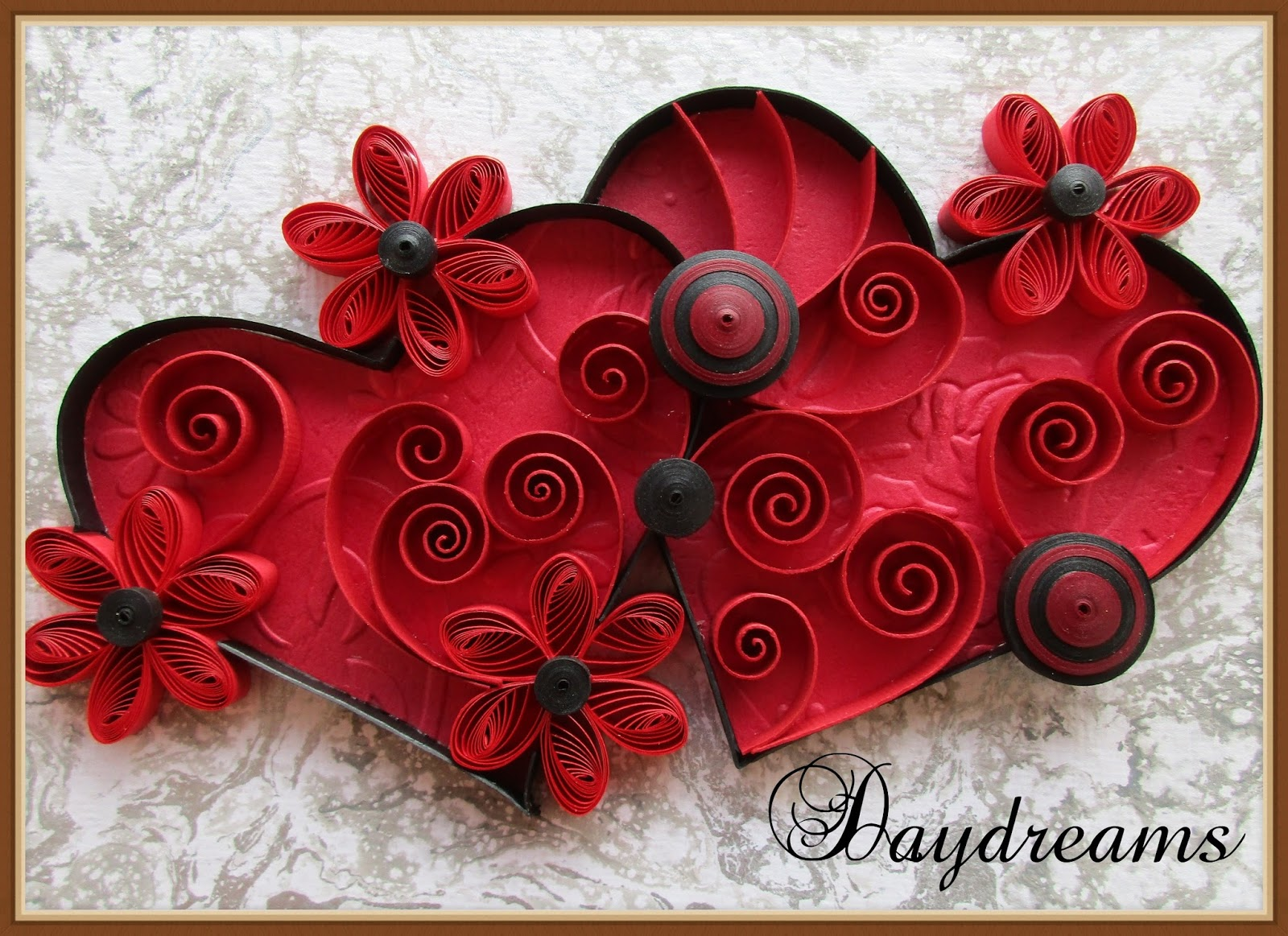 Daydreams Valentine Quilling