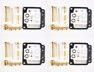 4x Yamaha XJ750 Maxim Seca HSC32 Carburetor Carb Rebuild Kit - 4 KITS