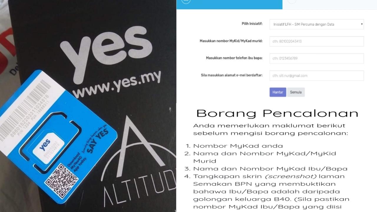 Permohonan dan Semakan Status Telefon Pintar Percuma B40 Secara Online