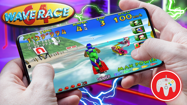 Wave Race 64 Para Teléfonos Android (ROM N64)