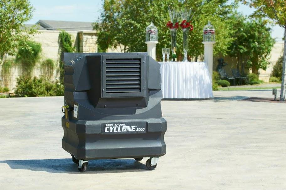 PortACool Cyclone Evaporative Cooler: Portable Patio And