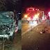 Três pessoas ficam feridas e dois cavalos morrem em acidente na BR-285
