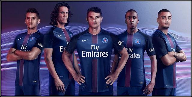 Paris Saint-Germain 2016 2017 Nike Home Football Kit