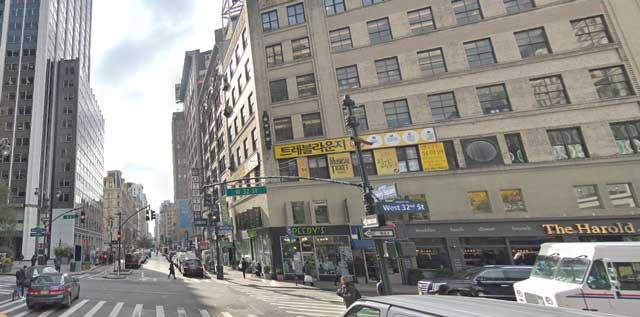 West 32nd Street at Broadway, NYC, randommusings.filminspector.com
