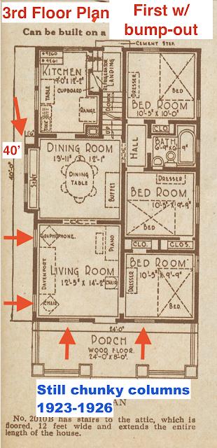 catalog image of Sears Winona floor plan